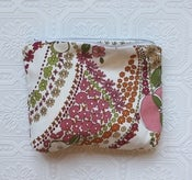 Image of Floral Swirl Cosmetic Bag
