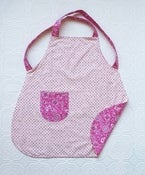 Image of Pink Polka Dot Children's Apron