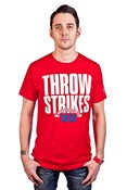Image of Throw Strikes Tee Men's