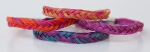 Image of Multi-Colored Double Wrapped Bracelet