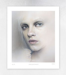 Image of Ginta Face Study #2 Limited Edition Print