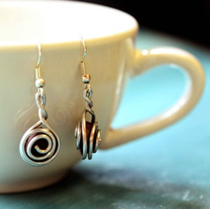 Image of Coffee Bean Earrings