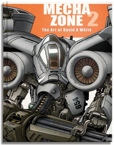 Image of Mecha Zone 2 Art Book