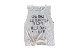 Image of Cowboys Muscle Tee