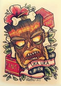 Image of Uka Uka Print 7 x 10&quot;