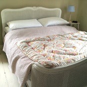 Image of Duck Egg Floral Vintage Eiderdown