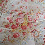 Image of Double Roses Vintage Eiderdown