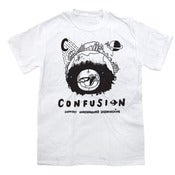 Image of Confusion - SUPPORT UNDERGROUND SK8BOARDING [white]