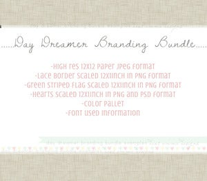 Image of day dreamer branding bundle