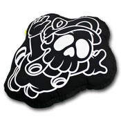 Image of Ghostface Hand Crafted Pillow (Black)