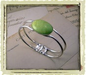 "Jewelry: ""Apple Green II"""