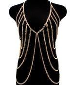 Image of Body Chain Vest (Gold or Silver)