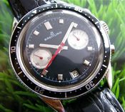 Image of VINTAGE BREITLING CHRONO DIVER MANUAL -SOLD!