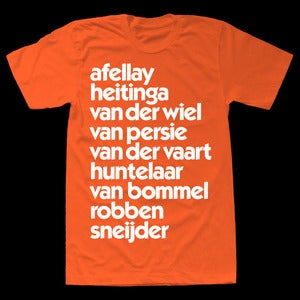Image of HOLLAND EURO 2012