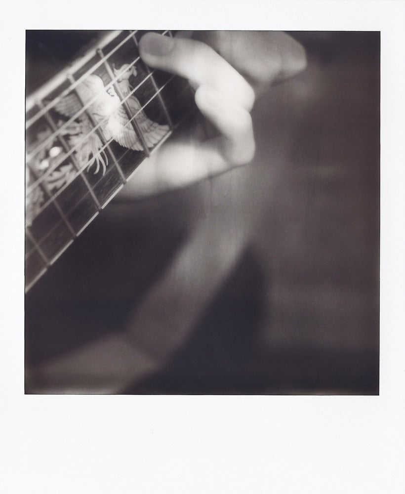 Image of My Guitar Is My Life - Polaroid Print