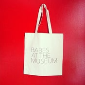 Image of Babes At The Museum Tote Bag (Natural)