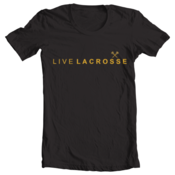 Image of Live Lacrosse - Black