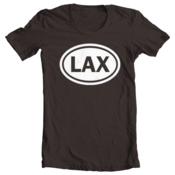 Image of LAX Oval - Chocolate