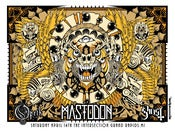 Image of Mastodon/Opeth/Ghost Gigposter
