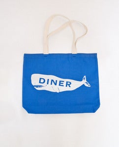 Diner Whale Tote