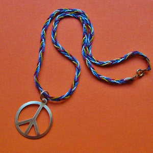 Image of Vintage Hippie Peace Necklace SALE