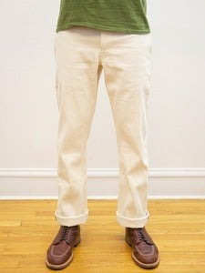 Image of Cone White Oak Natural Selvedge Miner Chinos