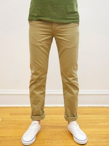 Image of Khaki Japanese Military 10oz Twill Tailored Chinos