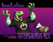 "Image of ""Tatersaurus Rex"" comic collection - Year 4"