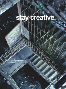 Image of stay creative pocket book (softcover)