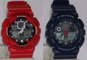 Image of Aviation Series Digital Sports Watch in Red or Blue