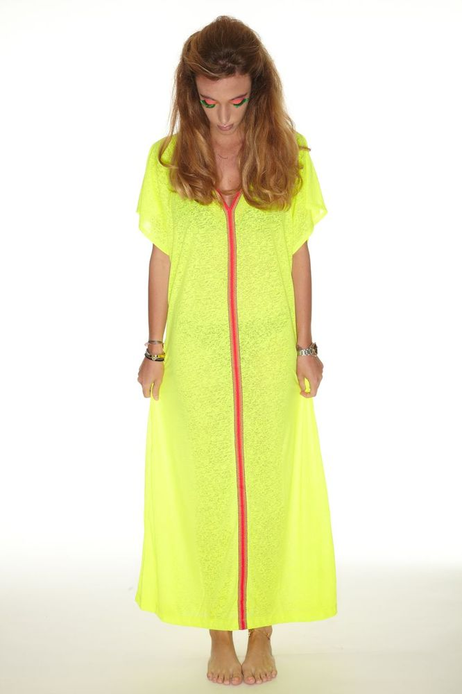 Image of Inca Abaya Lemon