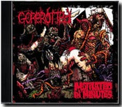 Image of GOREROTTED - 'Mutilated in Minutes' CD Re-issue 