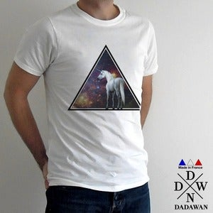 Image of Unicorn across the universe - T-shirt Made in France