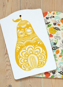 Image of Cuttingboard Folkloric pear