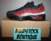Image of Nike Air Max 95 Black/Varsity Red