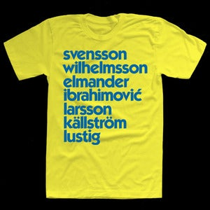 Image of SWEDEN EURO 2012