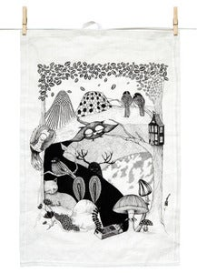 Image of Teatowel Deep woods