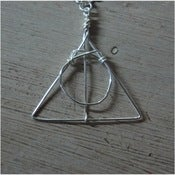 Image of Deathly Hallows Inspired Necklace