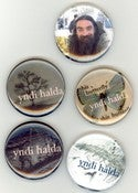 Image of yndi halda - 3 badges