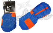 Image of Nike Elite Socks Photo Blue/Team Orange