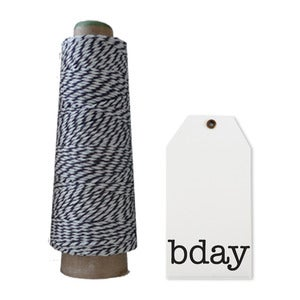 Image of Bday Tags &amp; Twine