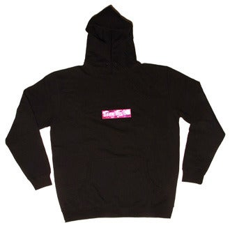 Image of GV Hoody ( black ) + Purple Camo Badges