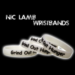 "Image of Special Edition -""GLOW IN THE DARK"" Nic Lamb Wristbands"