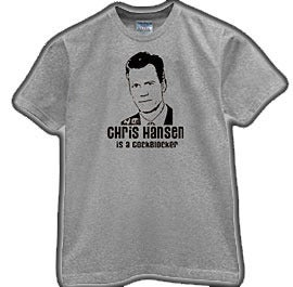 Image of Chris Hansen from Dateline NBC is a CockBlocker Tee