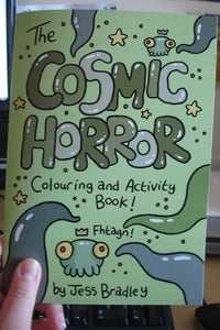 Image of The Cosmic Horror Colouring and Activity Book!