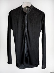 Image of Paul Harnden - Knit Linen Shirt Cardigan
