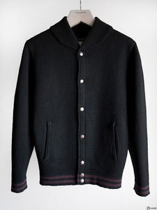 Image of Patrik Ervell - Wool Knit Baseball Jacket
