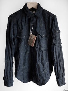 Image of Engineered Garments - Embroidered Wool CPO Shirt