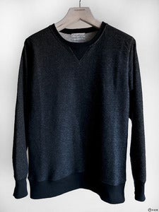 Image of Columbiaknit - Flecked Black Classic Sweatshirt