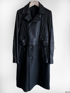 Image of Number (N)ine - FW06 Noir Rider Wool Coat